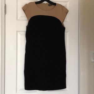 Vince Camuto Black and Tan dress